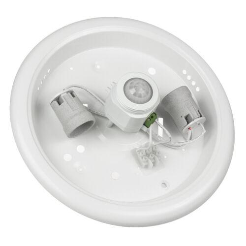 /& Dämmerungssensor PIR Set Birne Neutral Warm Decken Leuchte Lampe Bewegungs