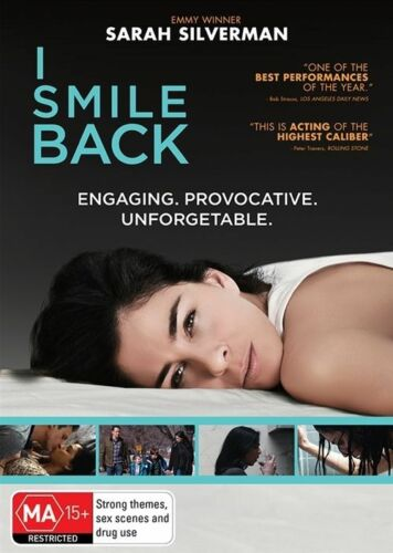 1 of 1 - I Smile Back (DVD, 2017) Sarah Silvermann Engaging. Provocative [Region 4] NEW