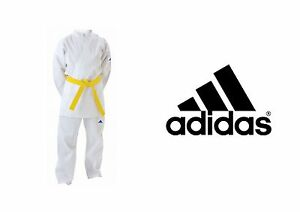 ADIDAS-ADISTART-7oz-Karate-Suit-with-Suit-FREE-Belt-110-150