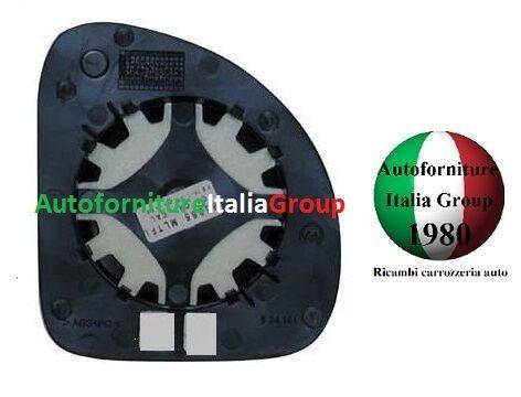 PIASTRA SPECCHIO RETROVISORE C//VETRO SX SUP FIAT MULTIPLA 04/> DAL 2004 IN POI