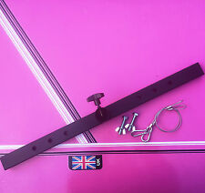 T BAR for disco lighting stands inc 2x bolts  built in top hat  2x safety wires