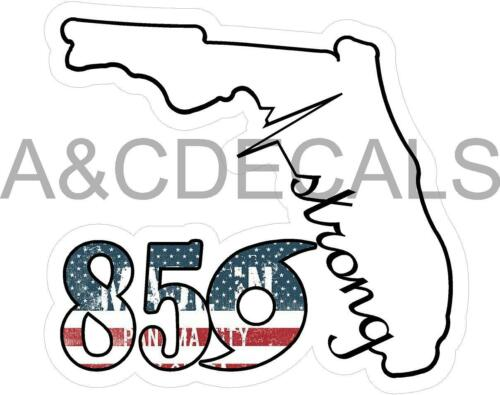 850STRONG VINYL DECAL STICKER PACK OF TWO 2