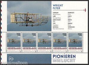 NVPH-3197-E-05-034-PIONIEREN-IN-DE-LUCHT-034-WRICHT-FLYER-vel-postfris