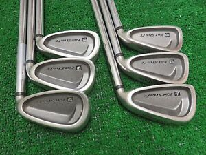 WILSON-FAT-SHAFT-III-IRON-SET-5-PW-GOLF-CLUBS-STIOFF-STEEL-RH-RIGHT-HANDED