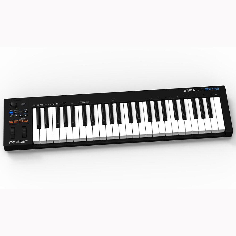 Nektar GX49 49 Key Velocity Sensitive USB MIDI Production Keyboard  Controller