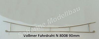 Spur N Vollmer Fahrdraht 8008 90 mm