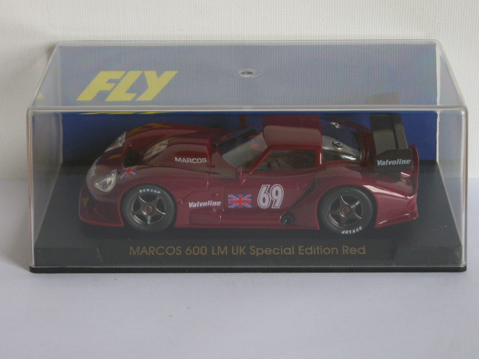 FLY Car Marcos LM 600 UK Special Edition Red Ref. E21