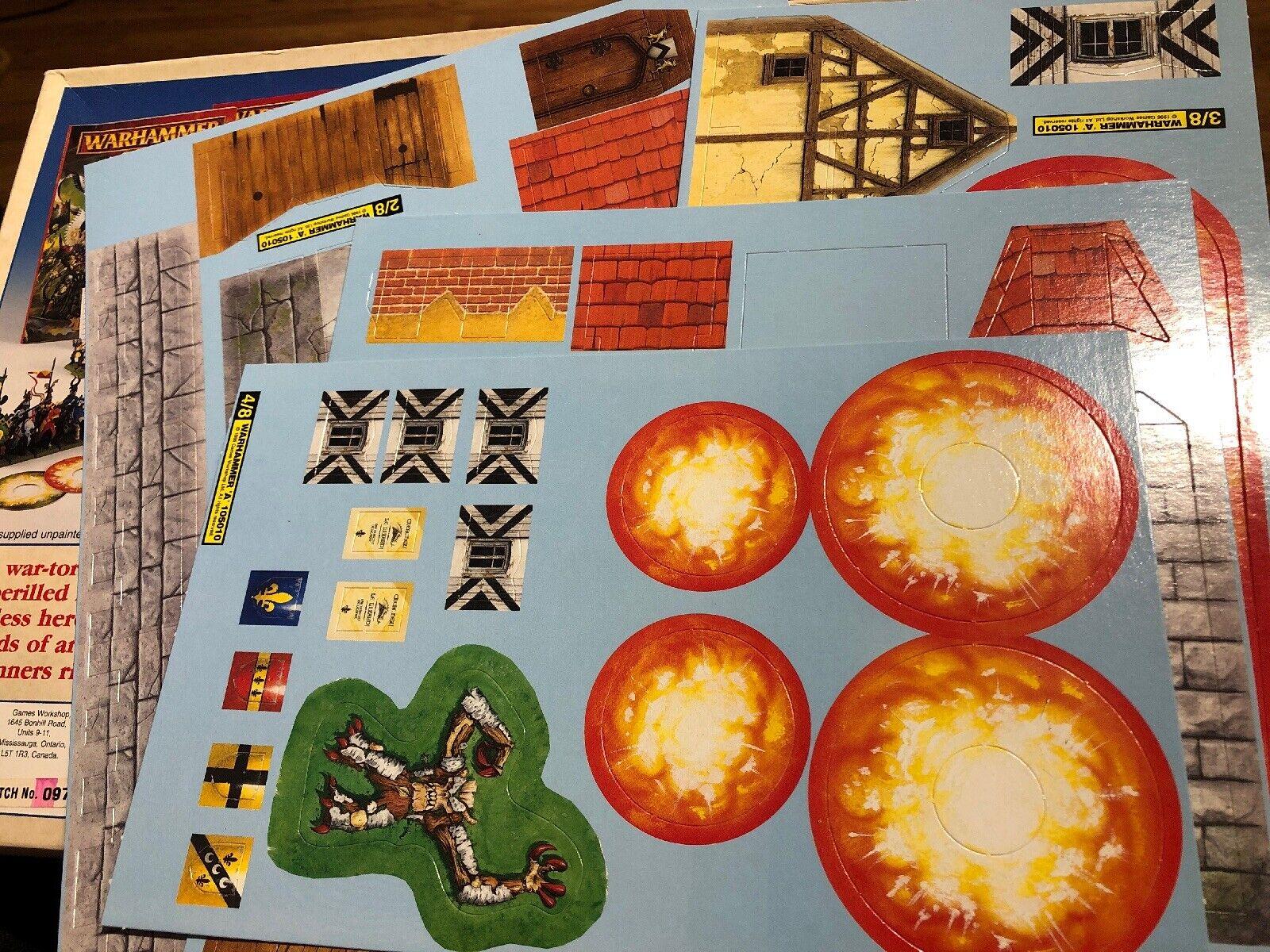ADVARSEL Spillet om Fantasy kamps værksted 1996 Plus Warhammer Magic