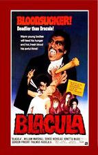 24X36Inch Art BLACULA Movie Poster Horror Blaxploitation Rare Vampire P030