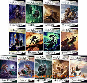 Details about Legend of Drizzt Collection Forgotten Realms Series Set 1-13  by RA Salvatore