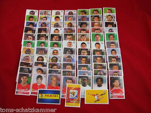 PANINI WM 2010 tutti 80 Update extra sticker come fotogrammi speciale Adesivo WC 10