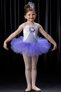 fea1642faac5 Tiny Dancer Dance Costume Ballerina Lilac Tap Baby Tutu Child Large ...