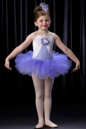 Tiny Dancer Dance Costume Ballerina Lilac Tap Baby Tutu Clearance Child X-Large