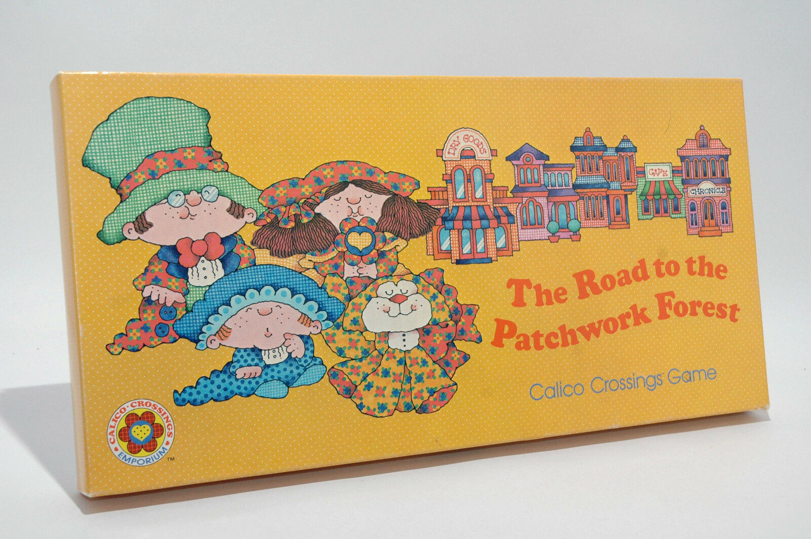 The Road to the Patchwork Forest Calico Crossings Board Game from Current