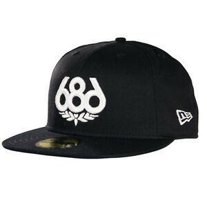 Image is loading 686-Icon-New-Era-Cap-Hat-Snowboard-Black- 907b82019a1