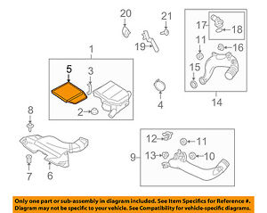 BMW-OEM-09-15-Z4-Engine-Air-Cleaner-Filter-Element-13717556961