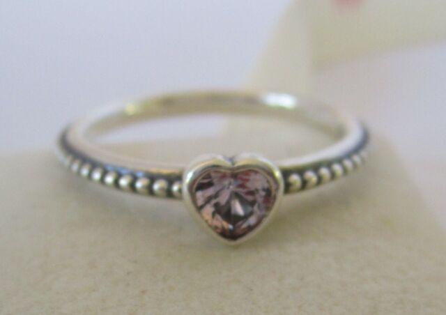 b2220c3644704 PANDORA Delicate Heart Ring S925 Ale Size 52