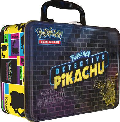 Pokemon TCG Detective Pikachu Collectors Chest Lunch Box 9