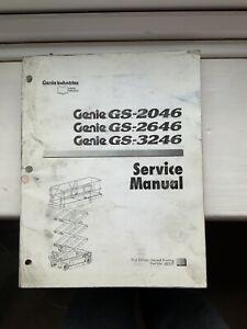 GENIE-SERVICE-GS-2046-2646-3246-amp-Pieces-Manuel