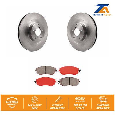 Front Coated Disc Rotors /& Semi-Metallic Brake Pads For Subaru Legacy Forester