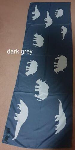 Ladies rhino and pangolin print scarf charity