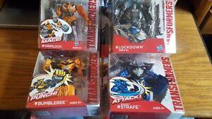 Transformers L'âge De L'extinction Lot 7 Grimlock Bumblebee Strafe Lockdown Mosc