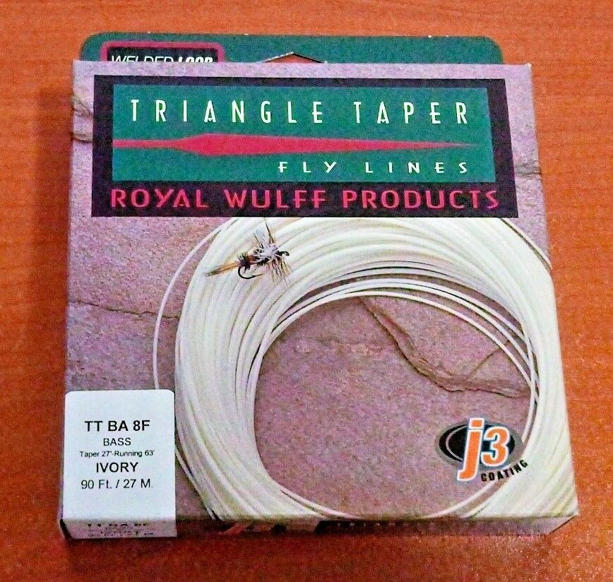 Royal Wulff Products Triangle Taper Floating Bass Line - 8wt