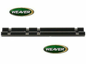 Made in USA Weaver Scope Mount Rail Fits Ithaca Deerslayer 37 & 87 - S&w 41