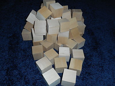 "2"" x 2"" x 2"" Basswood Carving Wood Blocks Craft Lumber *KILN DRIED* BUY IN BULK"