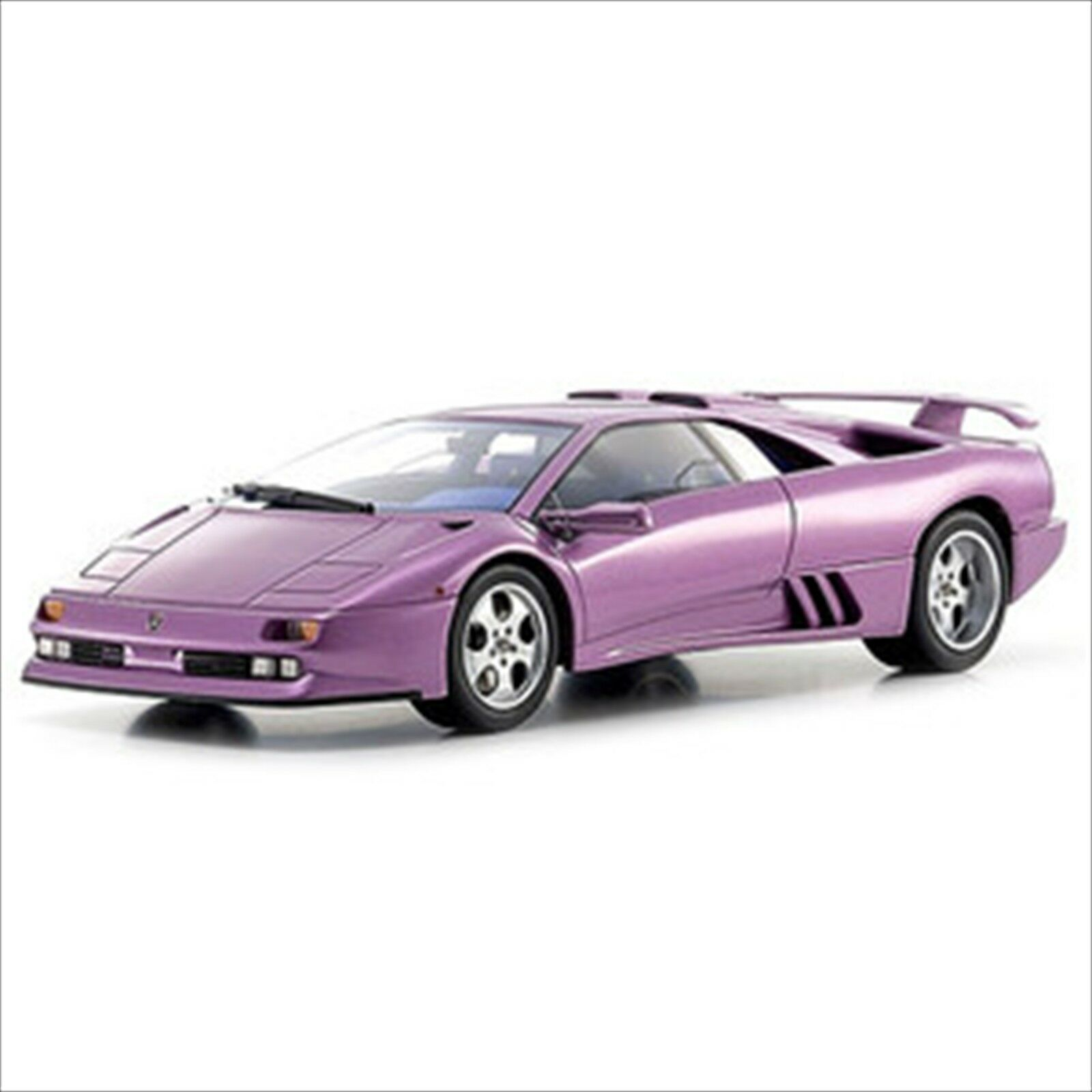 Kyosho Original 1 18 Lamborghini Diablo SE 30 Jota purple resin KSR18501V NEW