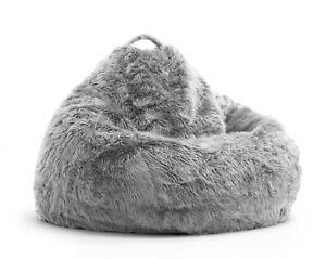 Remarkable Details About Comfort Research Big Joe Teardrop Bean Bag Chair Grey Creativecarmelina Interior Chair Design Creativecarmelinacom