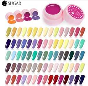 5ml-Nail-Art-Soak-Off-UV-LED-Gel-Polish-Color-Coat-Varnish-110-Colors-UR-SUGAR