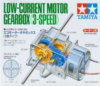 Tamiya 70203 Low-current Motor Gearbox 3-speed on sale