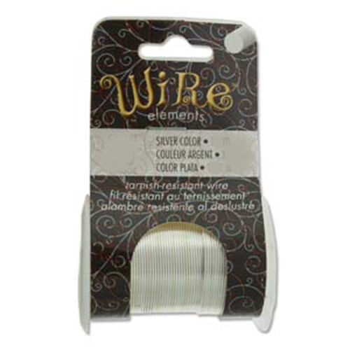 7 Gauges 6 Colors Tarnish Resistant Craft Wire BeadSmith Jewelry Crafts
