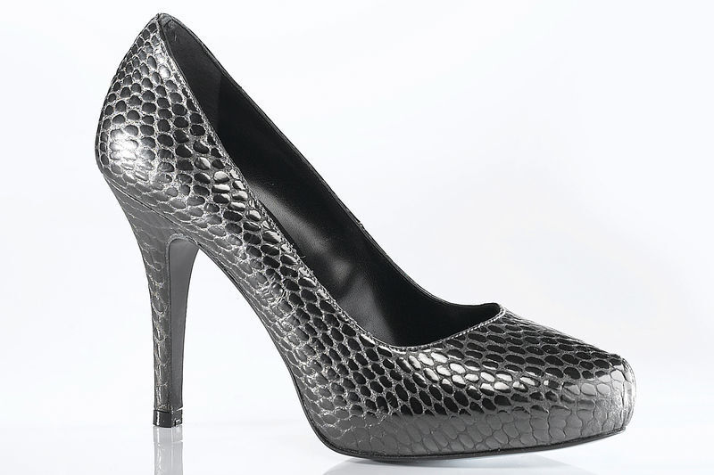 DAVID BRAUN Damenschuhe Pumps Lady's High Heels, grau EU 38 UK 5