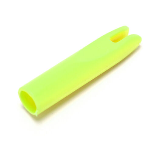 10pcs archery arrow nocks for fiberglass shaft OD 6mm white green blue yellowDD