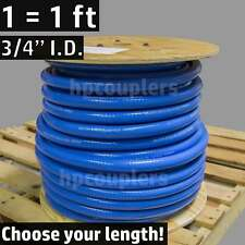 "3/4"" ID FlexFab 5526 Blue Silicone Heater Hose 19mm 350F Radiator Coolant .75"""