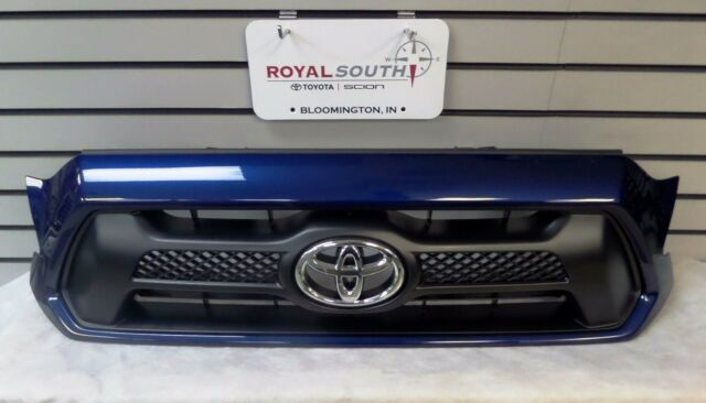 Toyota Tacoma Sport Blue Ribbon Metallic 8t5 Painted Grille Genuine Oem Oe For Online Ebay