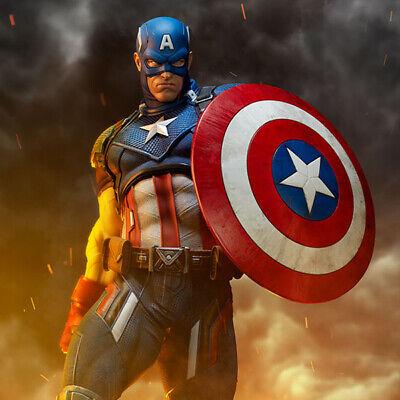 SIDESHOW Captain America Premium Format Figure Statue Comic Version 300524 NEW    eBay