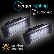 FOR VOLKSWAGEN PASSAT & ESTATE POLO JETTA 18 LED NUMBER PLATE LIGHT LAMP PAIR