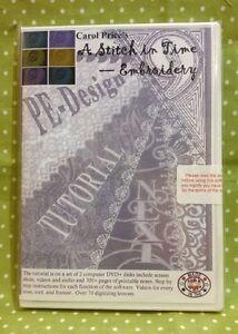 Brother-Embroidery-Software-Carol-Price-PE-DESIGN-9-Next-TUTORIAL-DVD-Cutwork