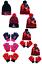 Girl/'s Miraculous Coccinelle Hiver Chapeau /& Gants sets