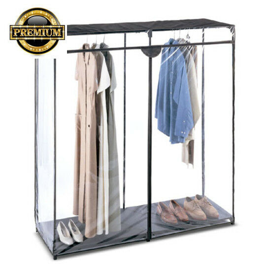FREE SHIPPING New Clothes Closet Whitmor Basics Extra Wide 60 Inch Hanging  Rack