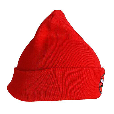 MagiDeal Unisex Adult Men Women Knit Beanie Hat Cap with Dive Flag//Diver Down Embroidery for Scuba Diving Snorkel Surf Kayak Water Sports
