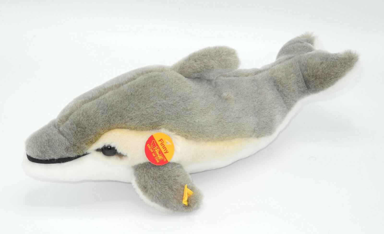 Steiff Delfin Finny ca. 35cm lang mit KFS