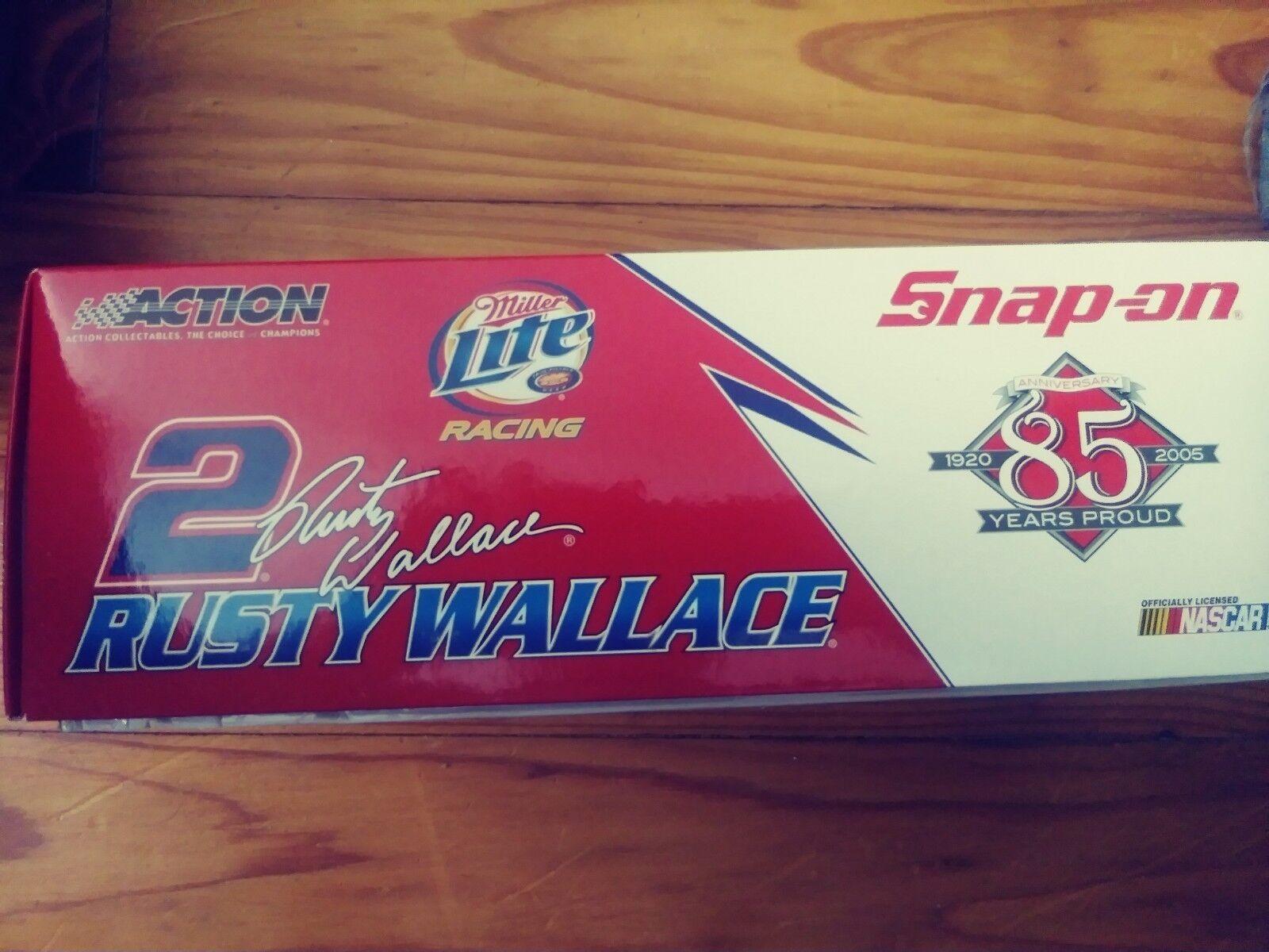 2005 acción acción acción 1 24 Diecast-Rusty Wallace Miller Lite Dodge Cargador  2 175c8d