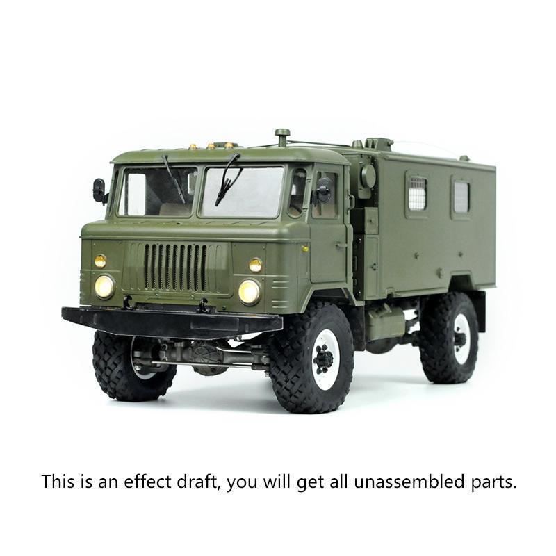 Motor de camión militar Cruz eje ejes de conexión radio control 1 10 GC4M comando coche 4WD Kit Modelo