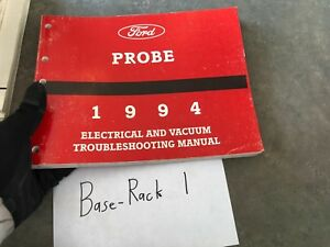 ford probe wiring diagrams 1994 ford probe electrical wiring diagrams service shop manual ewd  1994 ford probe electrical wiring