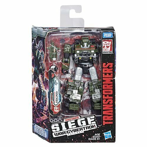 (In-Hand) Transformers Siege WFC War Of Cybertron W1 Deluxe Autobot Hound NEW