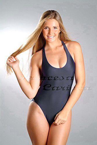 schwarz B48 Princesa Carioca Brasil Damen Badeanzug *NEU* Gr XS 3XL Farbe